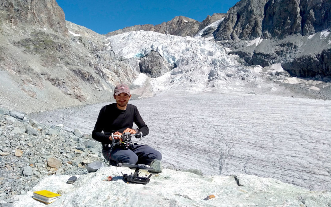 Meet our members: Deniz, geologist and PhD candidate researching glaciers in high mountain regions